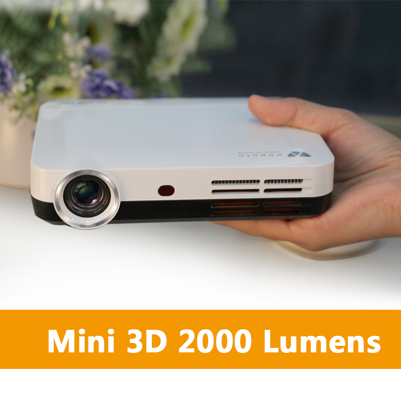 e9439968372127 Best Pocket Projector 1280x800 Mini 3D Portable Wireless Projector 1080P  for cell phone video game movies with Cheap Price-in Projectors from  Computer ...