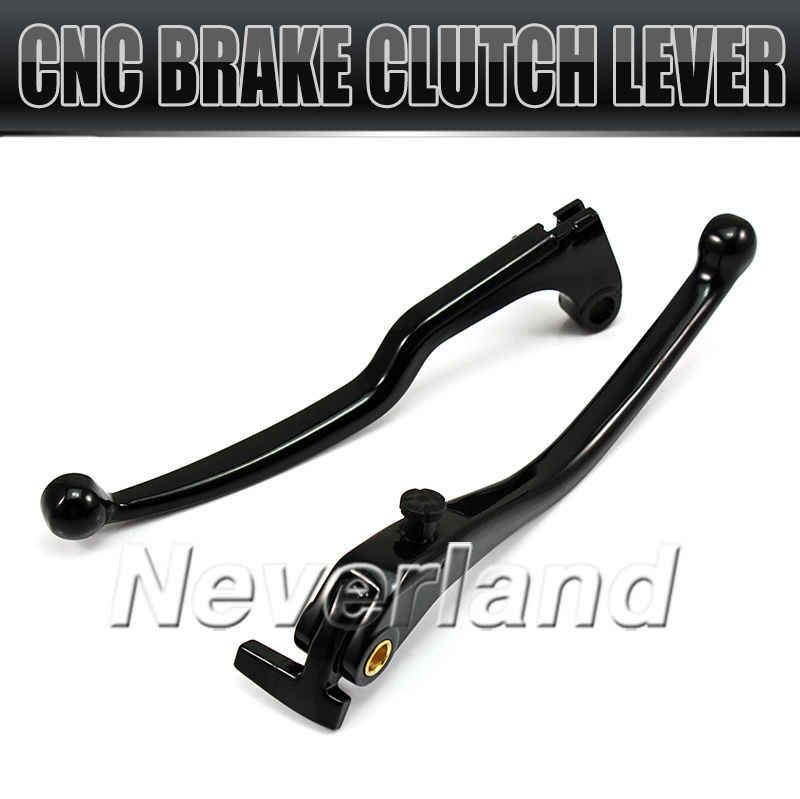 CNC Motorcycle Brake Clutch Levers for Yamaha YZF R1 2004 2005 2006 2007 2008 Chrome Black