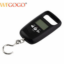 Portable Fishing Scale Double Precision Hook Electronic Kitchen Scales Digital Pocket Scale