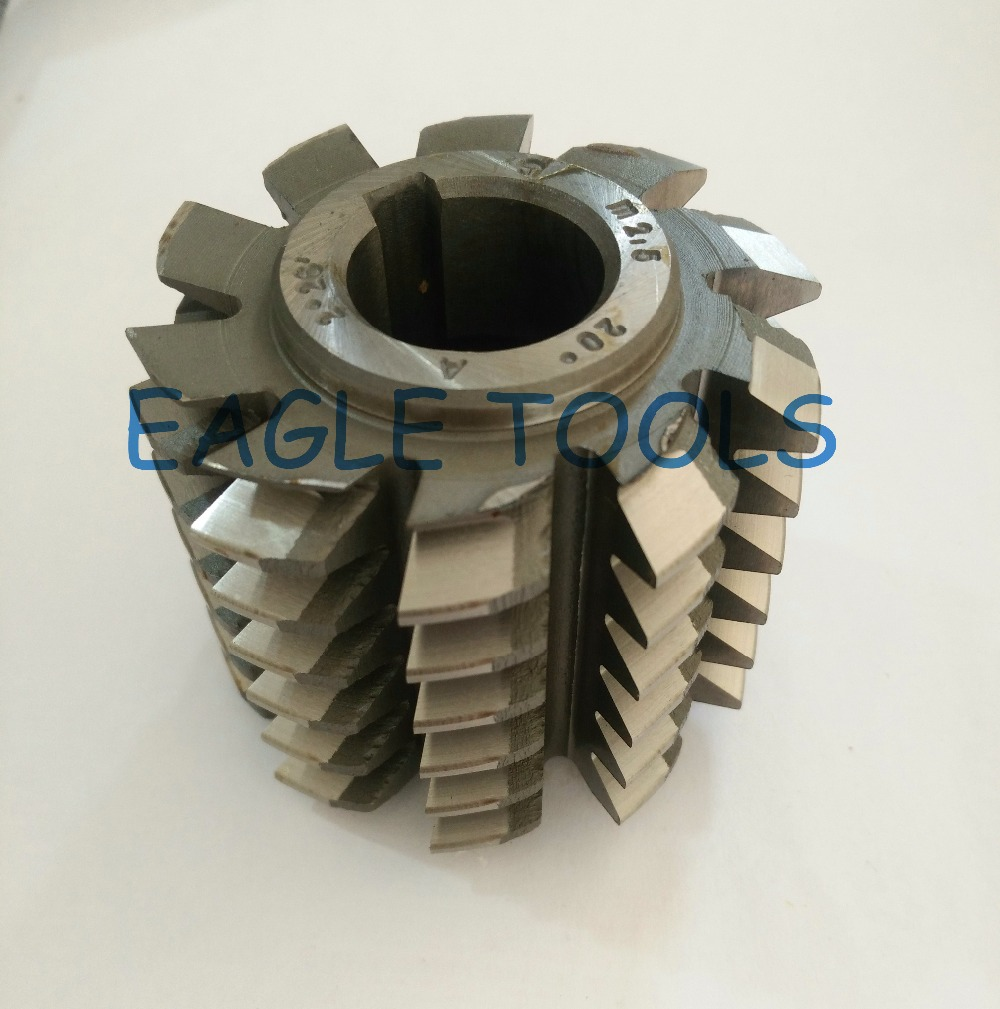 HSS M0 65 Module Gear Hob Cutter PA20 degree 50 40 22hole