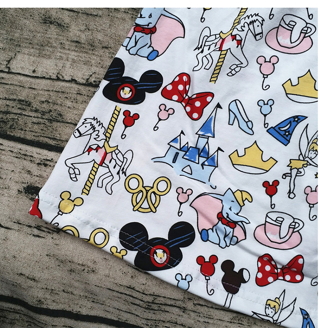 Girls Summer Latest Design Fashionable Casual Flutter Dress Children's Mickey Dress