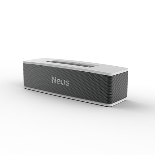 Neusound Neus 20W HiFi High power mini portable outdoor Bluetooth speaker box Sound Bar with enhanced patented deep bass kaish black p90 high power sound neck