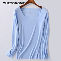 New Casual Women T Shirts Hooded Long Sleeve Round Neck Short Shirt Women S Clothing American