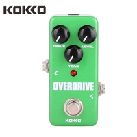 KOKKO FOD3 Guitar Pedal Effect Mini Vintage Overdrive Guitarra Pedal High Power Tube For Musical Instruments Guitar Accessories