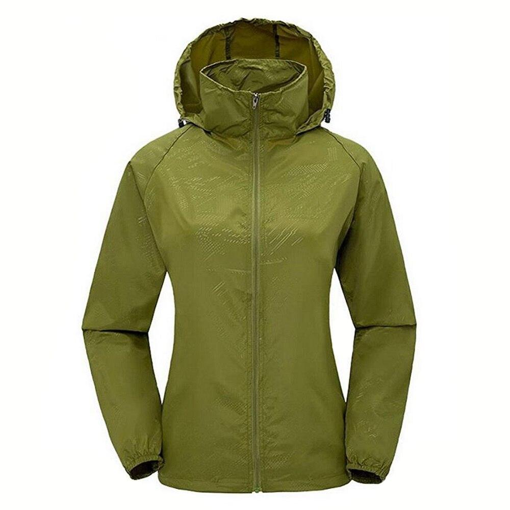 Women's Lightweight Bomber Jackets Waterproof Windbreaker Solid Jacket Quick Dry Casual Outwear Zipper Long sleeves Jacket