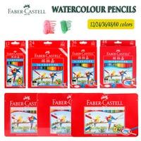 Faber castell aquarel potlood 36 48 60 set professionele tekening levert voor kinderen gorjuss meisjes met metallic kleurpotloden