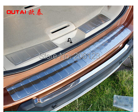 Car Styling Rear Bumper Inside Door Sill Plate Scuff Nissan X-Trail 2014 - HID store