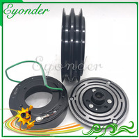AC A/C Compressor de Ar Condicionado Embreagem Eletromagnética Magnética Polia 2PK 2A 24 V para Volvo Volvo 210B 240B 290B 330B 360B