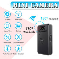 MD90 WiFi 4K Mini Sport Camera Full HD 1080P Micro Cam Infrared Night Vision Digital DV DVR Video Bike Outdoor Action Camcorder