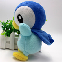 20cm Piplup Plush Toys Pocket Monster Children's Gift Toy Kids Cartoon Cute Stuffed Animals Plush Piplup Doll Gift for Kids/Baby