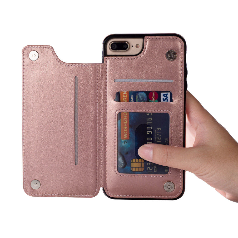 Image 3 - Case For Samsung Galaxy S7 S8 S9 S10 Plus Note 8 9 PU Leather Flip Wallet Cover with Phone holder Anti scratch  Dirt resistant-in Wallet Cases from Cellphones & Telecommunications