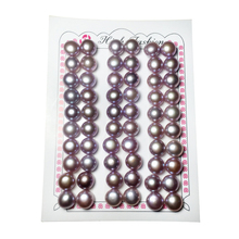 цена на Purple Button pearl freshwater pearl AAA purple button pearl