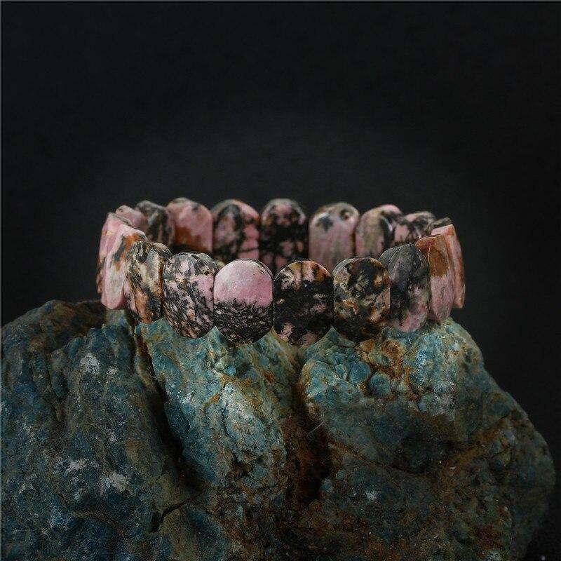 K's Gadgets Boho Chakra Bracelets Bangles Cut Faceted Cab Cabochon Natural Stone Beads Women Bracelet Bransoletka Bracciali