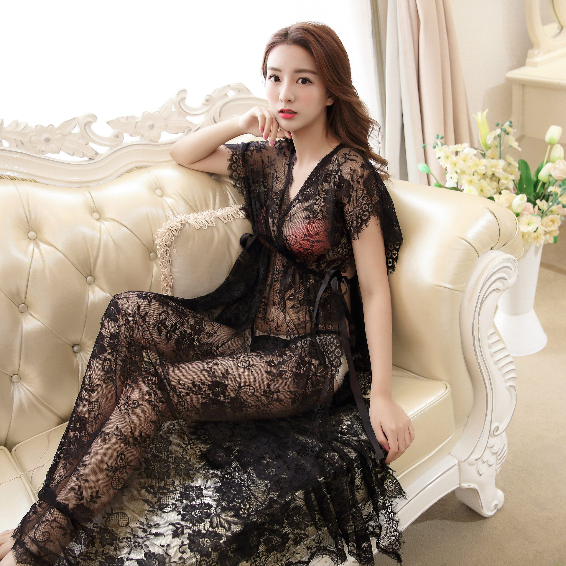 Special Offers Sexy Pyjamas Dress Women Brands And Get Free Shipping