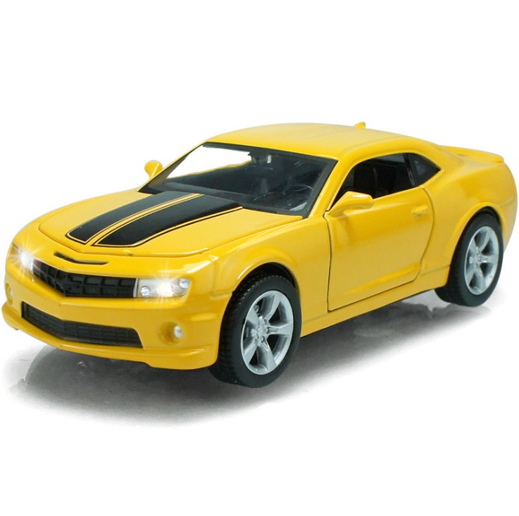 1:32 kids toys Bumblebee Mini metal toy cars model pull back car miniatures gifts for boys children