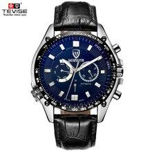TEVISE Известный Бренд Механические Мужские Часы Лучший Бренд Класса Люкс механические часы Часы 3ATM Мужчины Наручные Часы Relogio Masculino Reloj