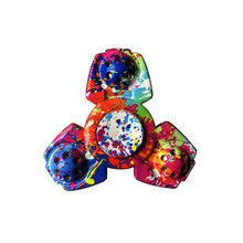 Colorful Fidget Spinner Spinner Metal Hand Spinner For Autism Rotation Anti Stress Toys for Children(China)