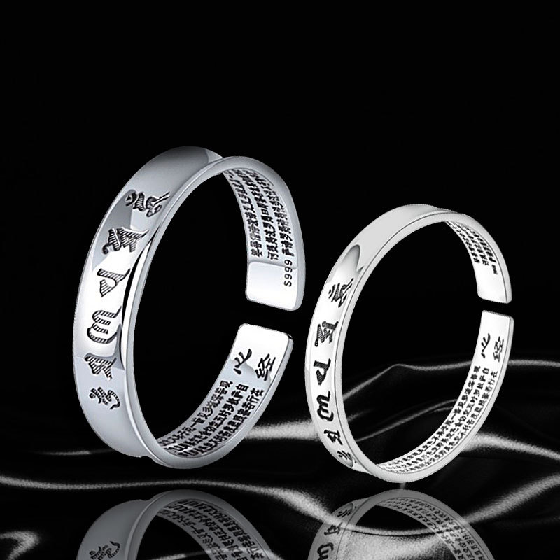 цены 2018 Special Offer Real Bangle Fine Jewelry, Japan And South Korea Fashion Lady's Sutra Personality Element Bracelet Version