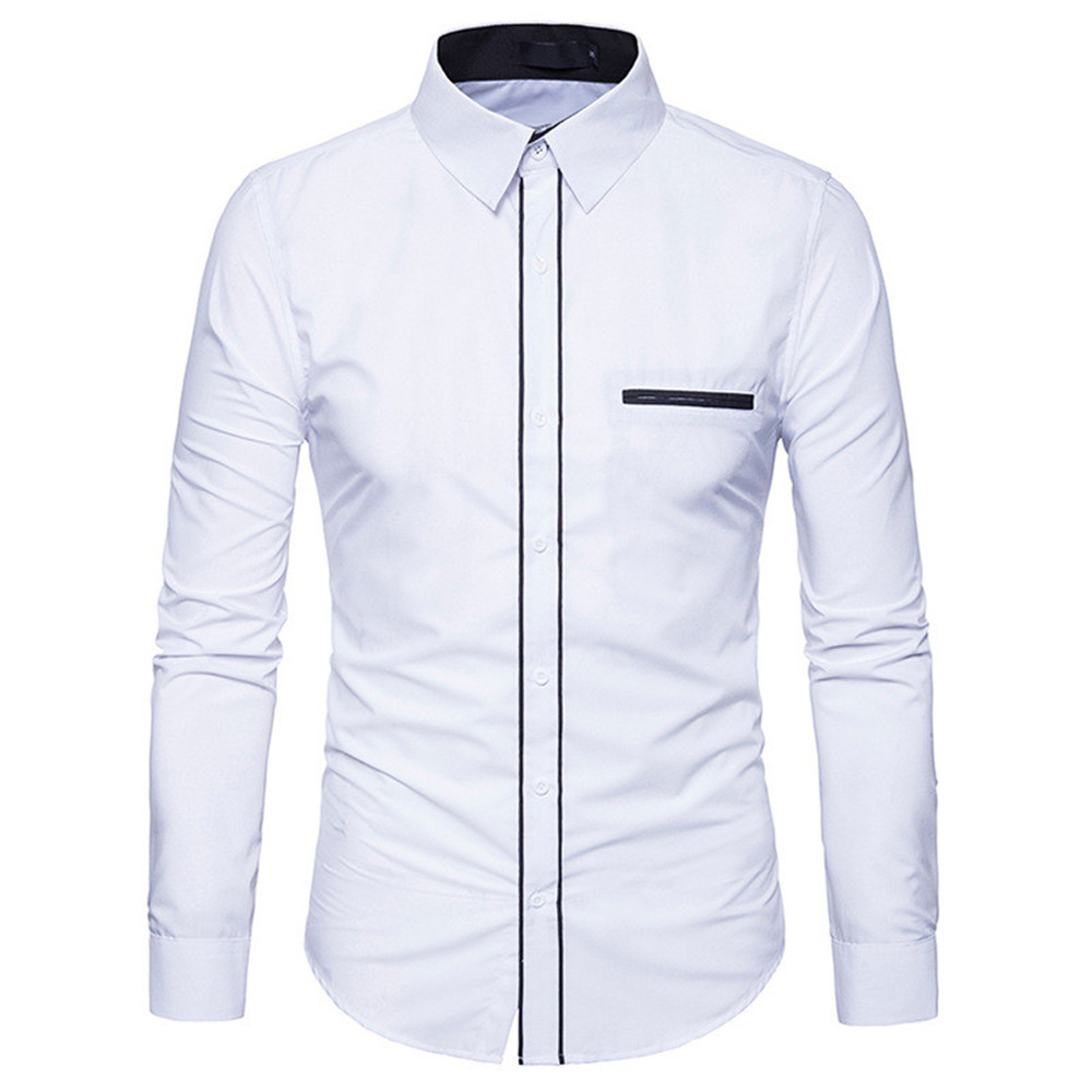 Small Size Young Boys Blusa Turn-down Collar Male Tide Streetwear Hot Sale Business Man Casual White Shirts Spring Cotton Tops