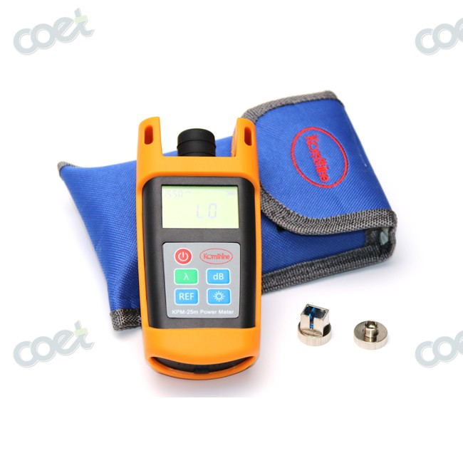 Handheld Cable Tester Fiber Optical Test Tool Fiber Optic Power Meter KPM-25M OPM -70~+10 dBm with SC Connector