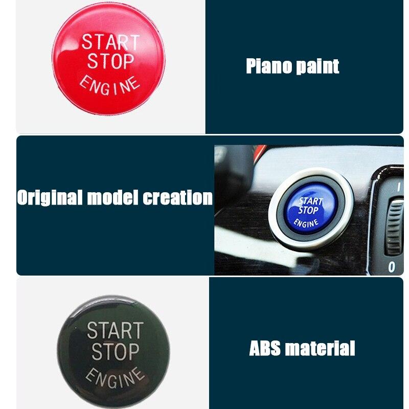 155abdf64 Melhor Interruptor de Botão de Parada de Partida do Motor Do Carro Transni  Substituir Tampa Auto Ignição Chave De Substituição para a Série de BMW 3  Classe ...