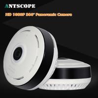 Antscope HD1080P FishEye IP Camera 360 Degree Full View Mini CCTV Camera 2MP Network Home Security