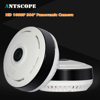 Antscope HD1080P FishEye IP Camera 360 Degree Full View Mini CCTV Camera 2MP Network Home Security