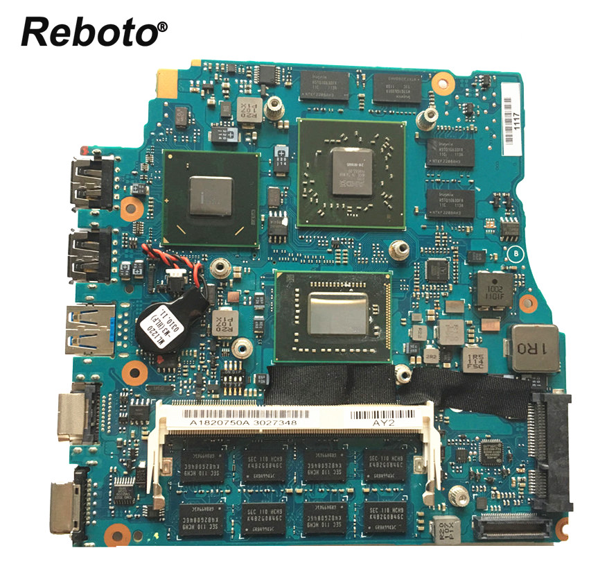 Reboto 13 3 inch For SONY VPCSB1AGX VPCSB Laptop Motherboard MBX 237 A1820750A HM67 i7 2620M