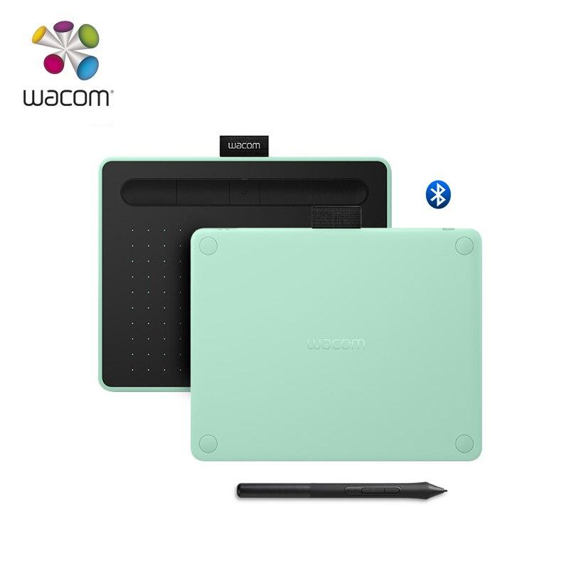 Tablette de dessin graphique sans fil Wacom Intuos CTL-4100WL avec 3 logiciels Bonus inclus 4096 niveaux de pression