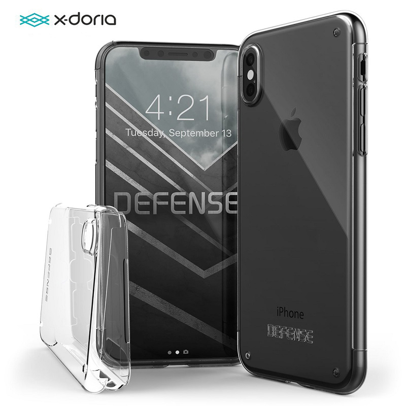 51e36dadf93 X Doria Defense 360 Full Cover Phone Case For iPhone X 10 Case 360 Degree  Full Body Protective Coque For iPhone X Ultra Thin -in Fitted Cases from ...