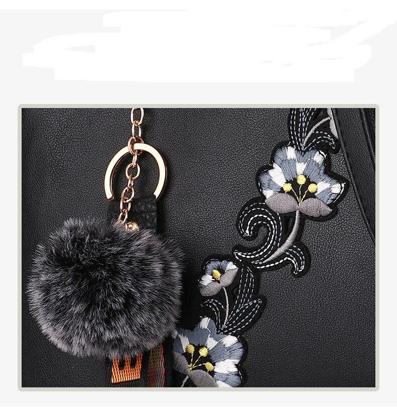 18 New women Handbags Fashion leather handbags Shoulder Bag women top-handle bags 11