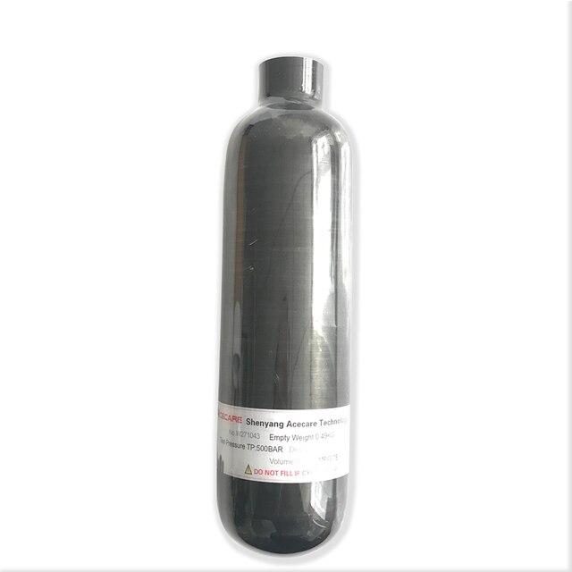 AC3035 Acecare fusil à Air comprimé 350cc 4500Psi PCP/Paintball réservoir noir PCP cylindre de Fiber de carbone pour la chasse HPA réservoir dair comprimé