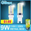 Led G9 3014 5W 6W 7W 9W 10W 11W 12W 2835 SMD Led G9 220V Crystal Silicone Candle Led G9 Lamp Crystal Silicone Candle light Bulb