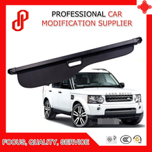 Black Beige color Rear Trunk Security Shield retractable Cargo cover Tonneau cover for Discovery 3 discovery 4 discovery 5 все цены