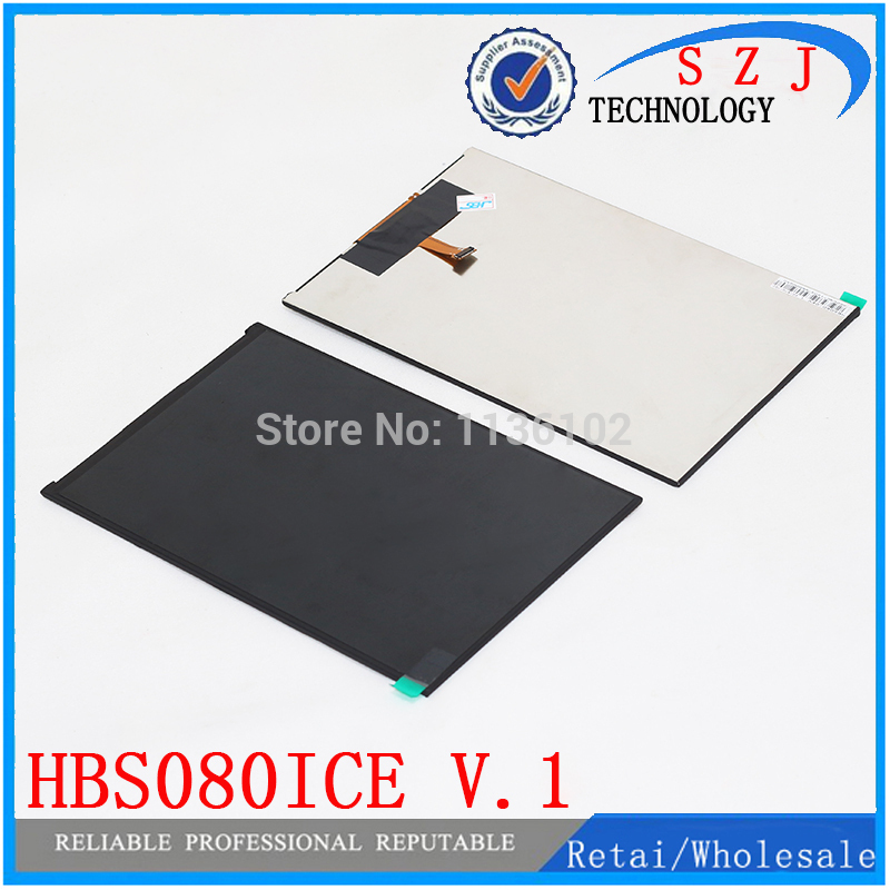 Original 8'' inch tablet pc LCD screen Sensor digitizer HBS080ICE V.1 LCD display Replacement Free shipping free shipping original 9 inch lcd screen cable numbers kr090lb3s 1030300647 40pin