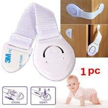 Kids Baby Safety Cabinet Locks Straps Child Infant Baby Kids Drawer Door Cabinet Cupboard Toddler Safety Locks 6 Color