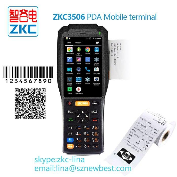 Android os портативное устройство с принтером, rfid-терминал для системы общественного транспорта или розничной торговли и т. Д.
