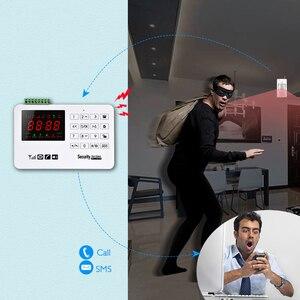 Image 2 - Smarsecur A30 App اللاسلكية GSM نظام إنذار أمني إنذار لص الأمن الدخيل