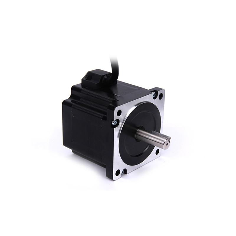Hohe drehmoment 86 Schrittmotor 2 PHASE 4-blei Nema34 motor 86BYGH6401 79,5mm 6.0A 4.00N.M GERÄUSCHARM motor für CNC XYZ