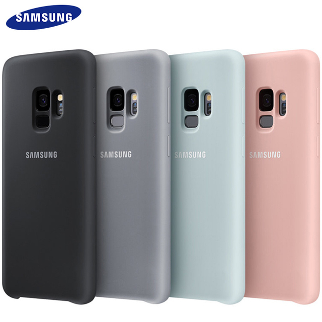 new arrival 68000 9ceb0 US $6.66 35% OFF|S9 S 9 Plus Case Silicone Samsung 100% Original Back Cover  360 Luxury Sport Cut Camera Protective Surface Waterproof G9650-in ...