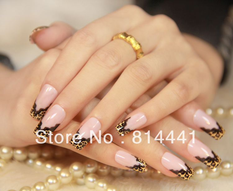 Elegant French Nail Tips Brand New Artificial Nail Beauty Products ...