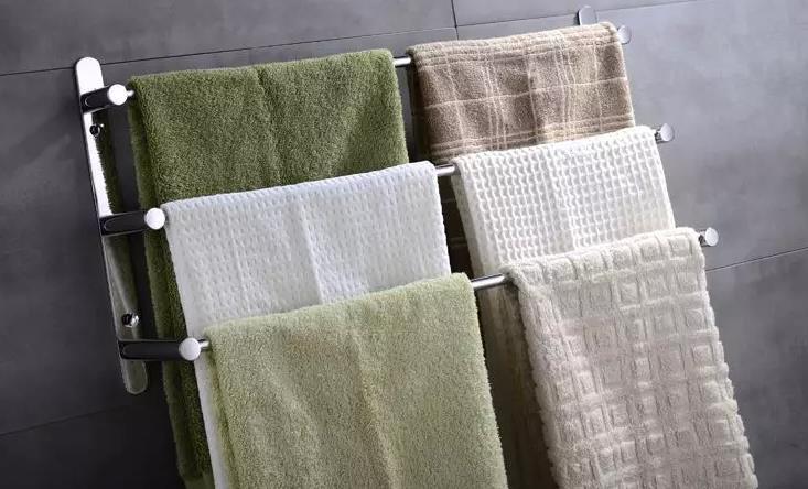 60cm Length 304 Stainless Steel Towel Ladder Modern Towel Rack / Towel Bars Bathroom  Towel Rack 3 Layers Wall Mount Victor 22 In Towel Racks From Home ...