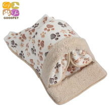 Hot Sale Pet Products Warm Soft Cat House Pet Sleeping Bag Lovely Dog Kennel Cat Bed Cat Sleeping Bag Teddy DB151218-2