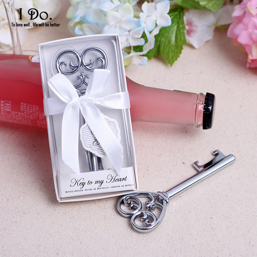 Gifts For Guests Attending Wedding: Free Shipping Key Bottle Opener Wedding Favors And Gifts