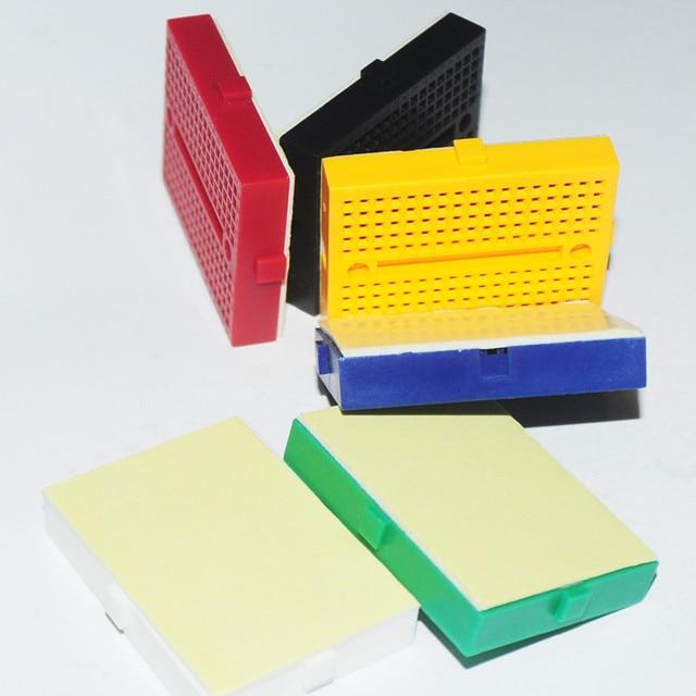 6pcs/lot Prototype Protoboard KIT Arduin Mini Breadboard PCB 170Tie-point SYB-170 Solderless Breadboard Color Module Electronic