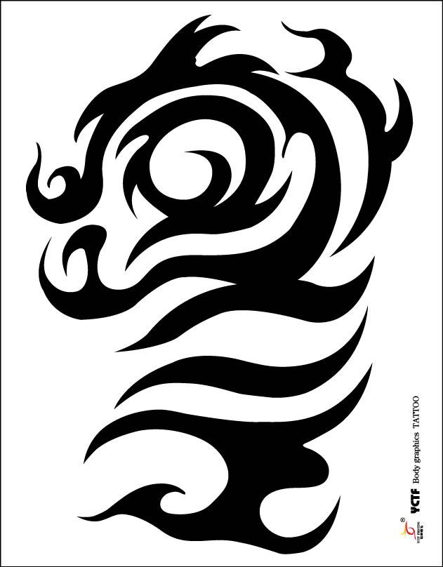Temporary tattoos large hot sale dragon arm fake transfer tattoo stickers hot sexy men women spray waterproof designs in temporary tattoos from beauty