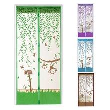 Hands-Free Magnetic Soft Door Прочный экран Fly Anti Mosquito Bug Mesh Curtain