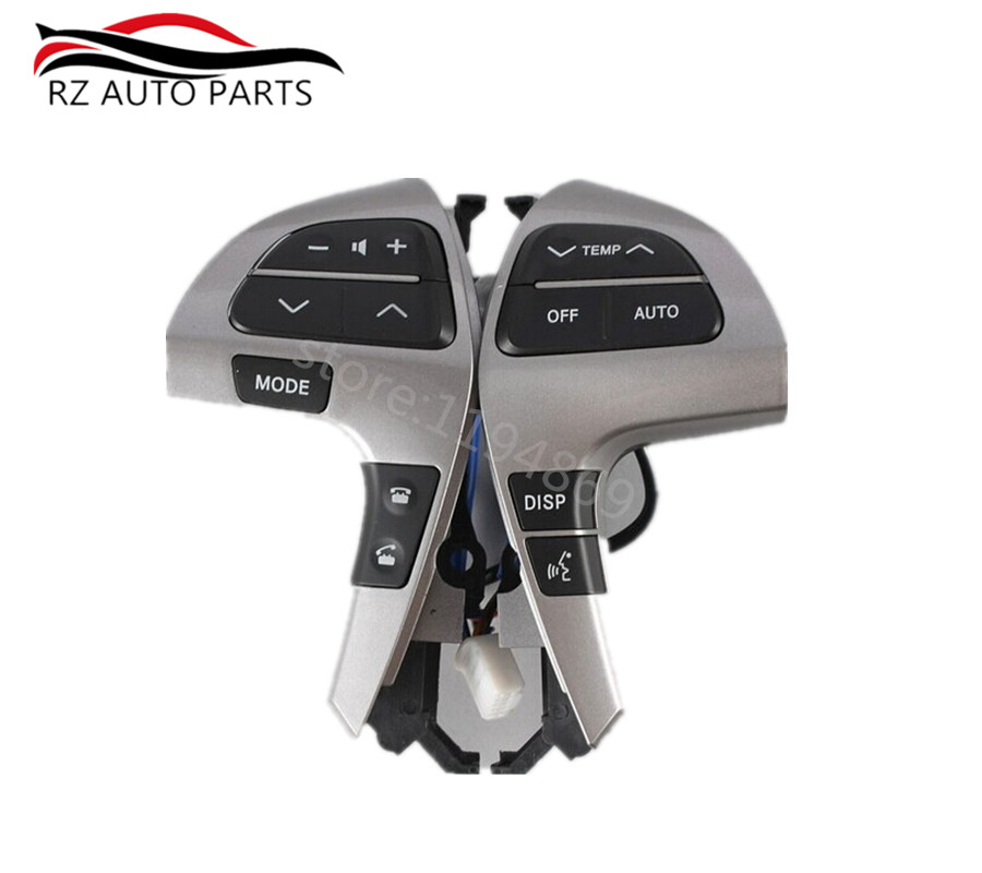 Steering Wheel Audio / <font><b>air</b></font> <font><b>conditioning</b></font> / Bluetooth Control Buttons switch for <font><b>toyota</b></font> <font><b>Highlander</b></font> Camry 84250-0E220