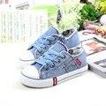 Crianças Sapatas de Lona Da Marca Primavera Outono Da Criança Estudante Sapatilhas Meninos Meninas Sapato Esporte Fashion Zapatillas Deportivas EU19-37 Ninos