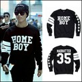 2016 new winter HOME BOY stars SHINEE Lee Taemin same section of men and women round neck cashmere sweatshirt  BTS